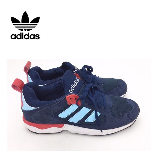 nouveaux styles c386b 76497 Adidas Zx 5000 Rspn Art M18218 Navy Red Sneaker